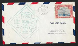 UNITED STATES Event Cover Legion Field Airport 1929 Selma Alabama