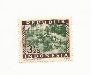 Indonesia 1949 - MNH - Scott #34 *