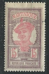 Martinique |  Scott # 70 - MH