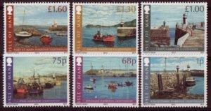 Isle of Man --2012-   HARBOUR LIGHTHOUSES  MNH  Set   # 1493-1498