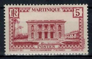Martinique - Scott 137 MH