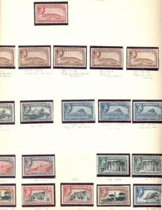 GIBRALTAR COLLECTION 1937-1989, in Lindner Hingeless Album, Mint, Scott $916.00