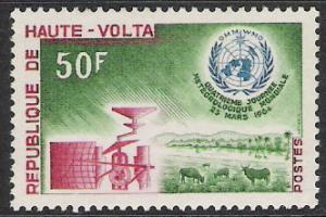 Upper Volta #130 Meteorological Day MNH