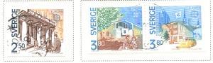 Sweden Sc 1810-2 1990 Europa stamp set used