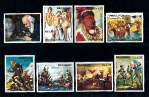 [72634] Paraguay 1975 Paintings Independence USA  MNH