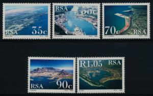 South Africa 844-8 MNH Harbors, Ships
