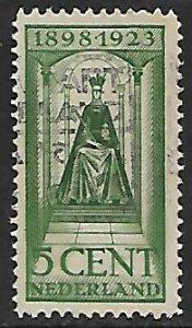 Netherlands # 125 - Queen Wilhelmina - used....(P2)