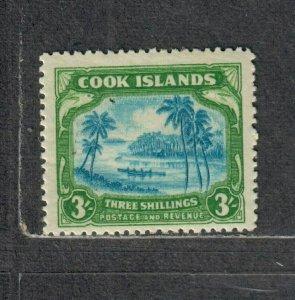 Cook Islands Sc#114 M/NH/F-VF, Cv. $37.50