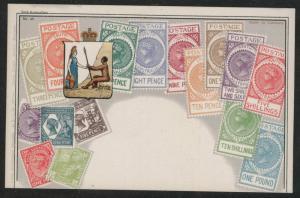 South Australia Ottmar Zieher flat OZ stampcard No.48.
