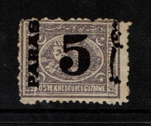 Egypt SC# 27, Mint No Gum, Hinge Remnant - S4088