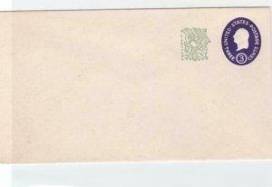 united states  1958 entire unused stationary envelope  ref r14601