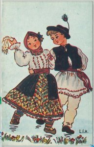 64901 - ROMANIA - POSTAL HISTORY: POSTAL STATIONERY CARD - DANCING Music