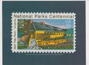 15 National Parks Centennial 1872-1972 stamp posters suitable for framing
