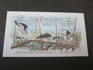 Christmas Island 1990 Sc 274 bird MNH