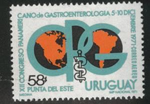 Uruguay Scott c379 MNH** 1971 airmail