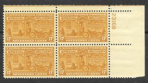 Doyle's_Stamps: 1944 MNH XF Special Delivery PNB, Scott #E18**