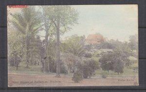 QUEENSLAND, 1906 ppc. Houses of Parliament, Brisbane, 1d., Brisbane to Sydney.