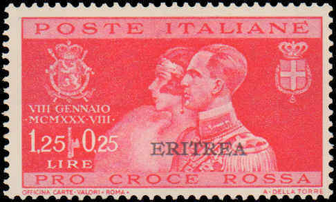1930 Eritrea #116-118, Complete Set(3), Never Hinged / HipStamp