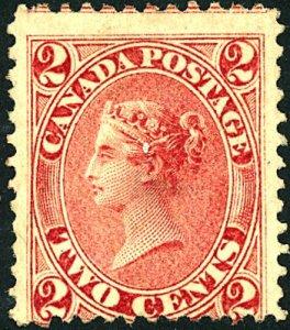 Canada #20 MINT OG HR Thin
