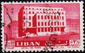 Lebanon. 1961 2p50 S.G.698 Fine Used
