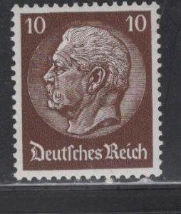 GERMANY 405  MNH  HINDENBURG ISSUE 1933