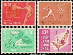 Vietnam Scott 272-275 Mint never hinged.