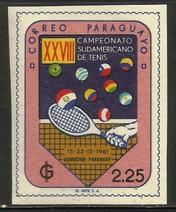 Paraguay 1961 Scott# 608 MH