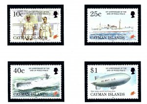 Cayman Is 704-07 MNH 1995 End of WWII Anniversary