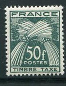 France #J91 Mint