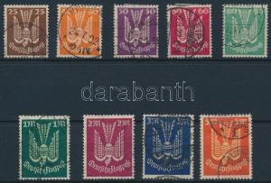Germany stamp Airmail set Used 1922 Mi 210-218 Deutsches Reich WS231877