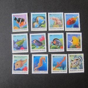 Marshall Island 1988 sea animal MNH