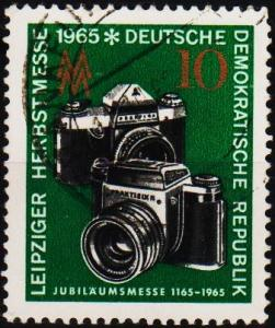 Germany(DDR). 1965 10pf  S.G.E848 Fine Used