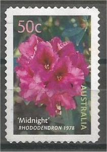 AUSTRALIA, 2002, used 50c, Flowers, Self-Adhesive Scott 2147