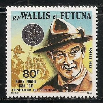 Wallis and Futuna Islands 287 1982 Scouting single MNH