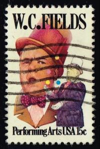 US #1803 W.C. Fields; Used (0.25)