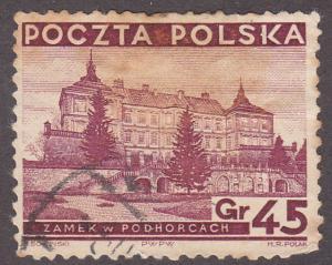 Poland 300 Castle at Podhorce 1936