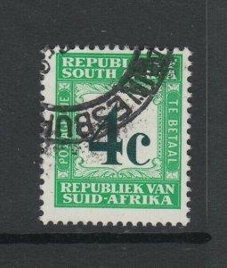 South Africa, Scott J69a (SG D64b), used