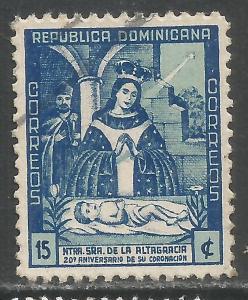 DOMINICAN REPUBLIC 398 VFU P189-6