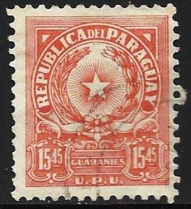 Paraguay 1962 Scott# 654 Used