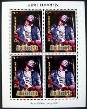 Montserrat #924 ms of 4, F-VF Mint NH ** Jimi Hendrix