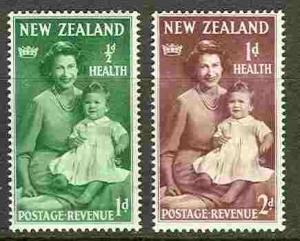 New Zealand MH B36-7 Elizabeth & Prince Charles 1950