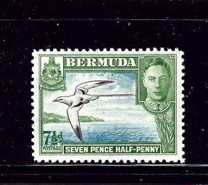 Bermuda 121D MNH 1941 Bird in Flight