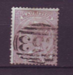 J21948 Jlstamps 1863-72 mauritius used #36 queen wmk 1