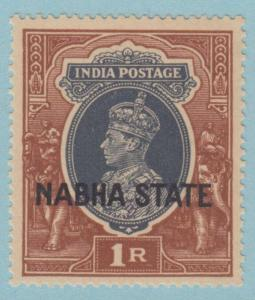 INDIA - NABHA STATE 81 MINT NEVER HINGED OG ** NO FAULTS VERY FINE !