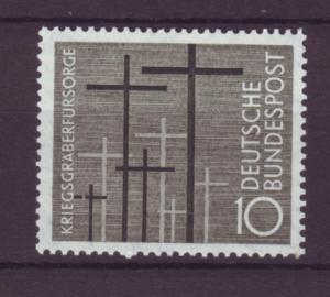 J21673 Jlstamps 1956 germany set of 1 mnh #753 crosses