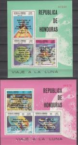 Honduras #C458z, C458zz MNH CV $20.00 (K1789L)