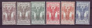 J21263 Jlstamps 1926 eritrea set mh #b11-6 peace