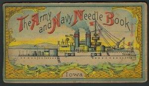 ARMY-NAVY NEEDLE BOOK