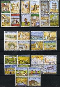 Kuwait 1978 Water Resources complete set of 32 in se-tena...