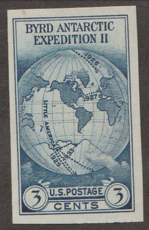 U S  Scott #735a Byrd Stamp - Mint Single / HipStamp